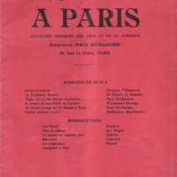 LES ARTS À PARIS, N° 8-10, 1923""