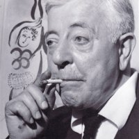 PHOTOGRAPHIE DE JACQUES PRÉVERT. PHOTO PIC